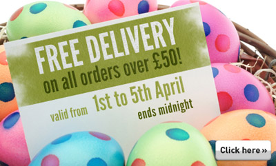 Claim FREEPOST this Easter at Cooksongold