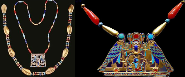 History of egyptian jewellery the bench for Egyptian jewelry