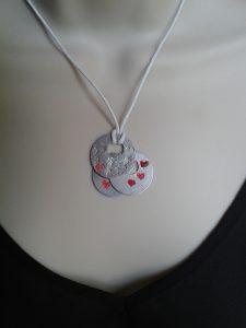 ImpressArt Offset Washer necklace