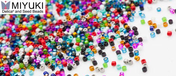 Miyuki Delica and Seed Beads