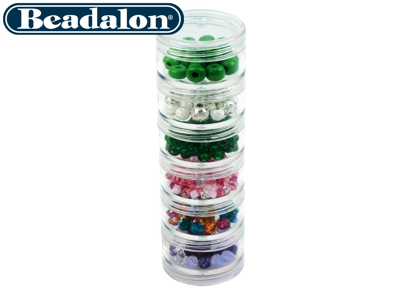 Beadalon Medium and Large Bead Storage Stackable Containers  sc 1 st  Cooksongold & Jewellery Making Storage Ideas | Cooksongold | The Bench