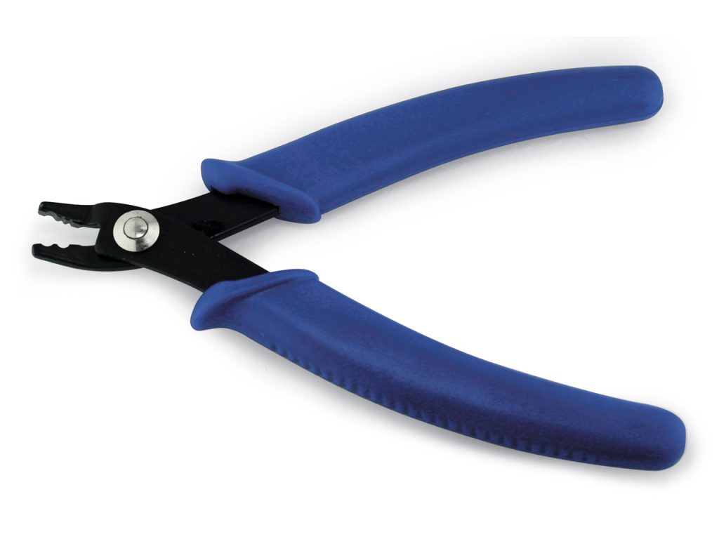BLUE CRIMPING JEWELLERY MAKING PLIERS