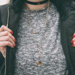 an instagram model showing off her jewellery
