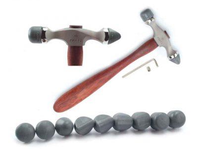 Fretz Planishing Hammer with Inserts