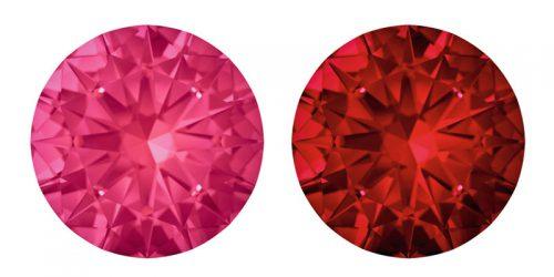 Swarovski® Genuine Rubies