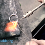 welding a wedding ring
