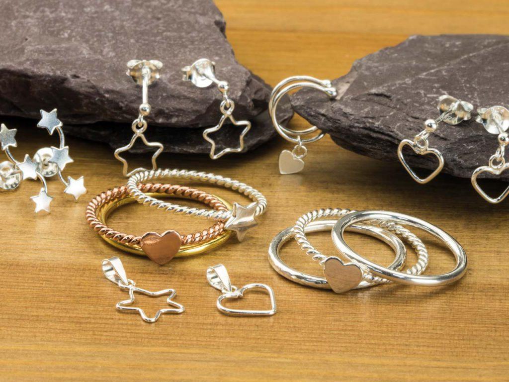 bracelets, bangles and earrings