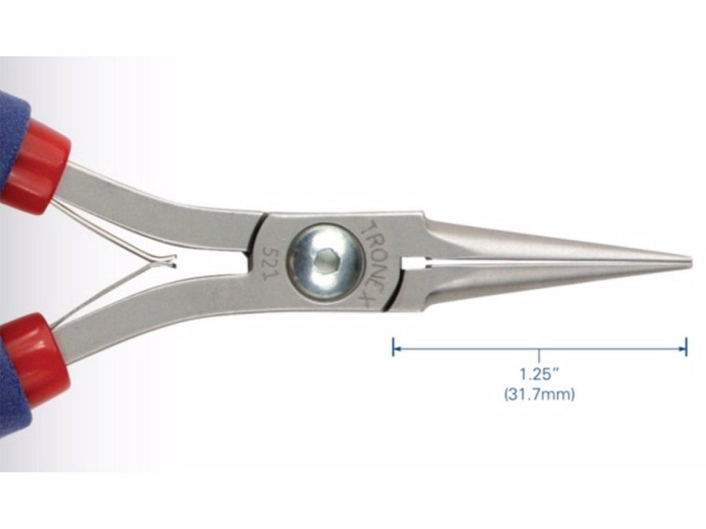 Tronex Smooth Jaw Needle Nose Pliers