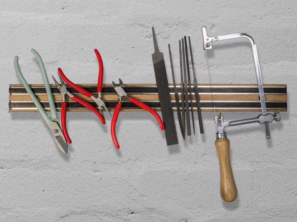 Magnetic Wooden Tool Holder