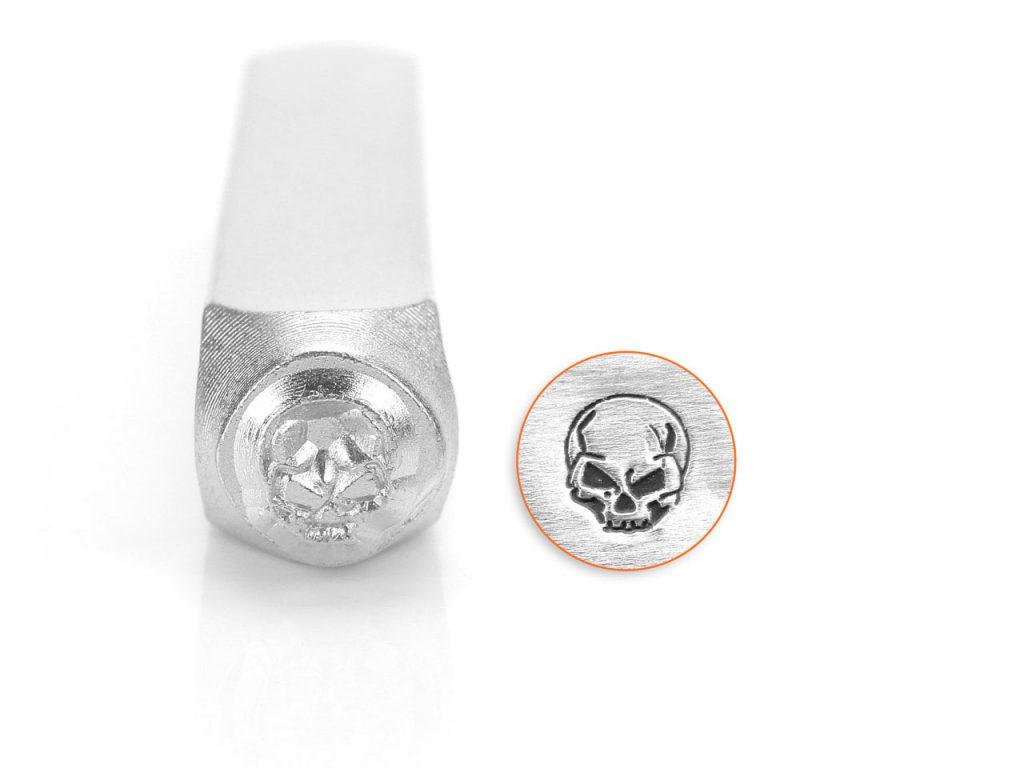 ImpressArt Angry Skull Design Stamp