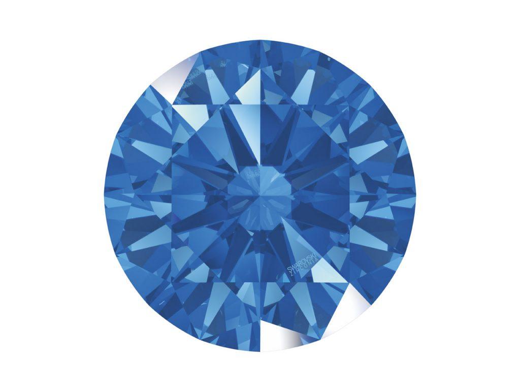 fancy blue zirconia