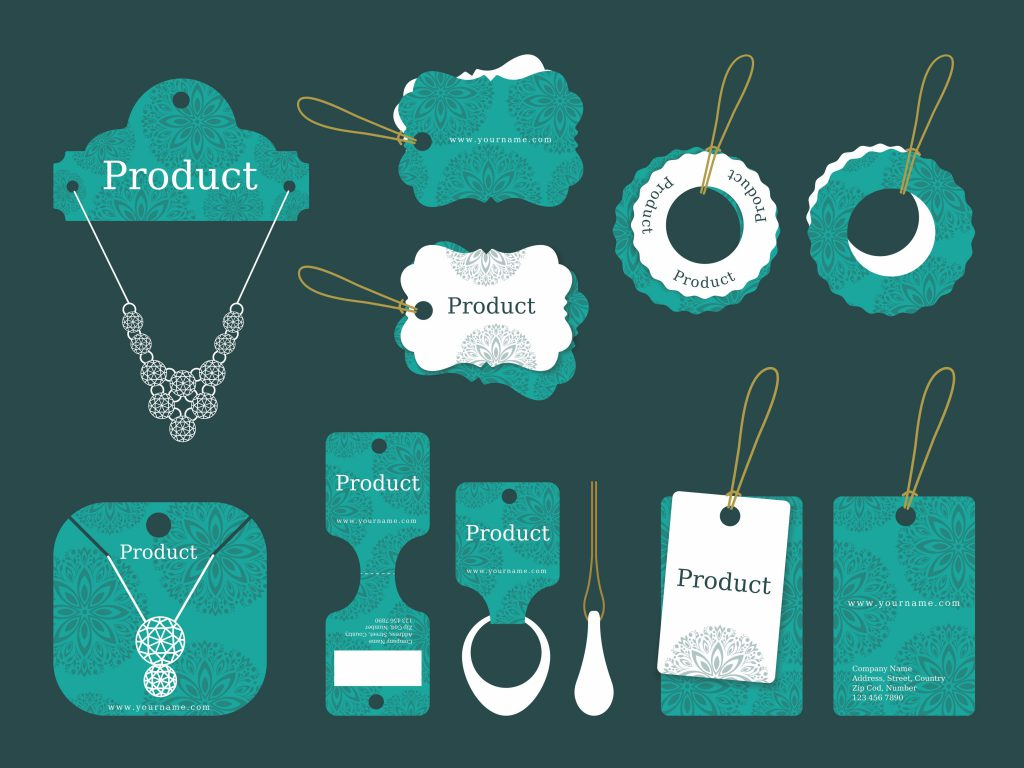 jewellery products on display