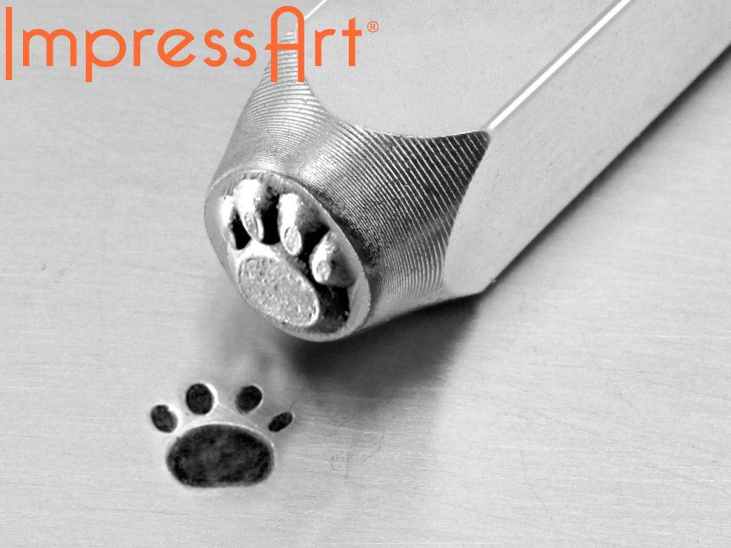 paw print design stamp