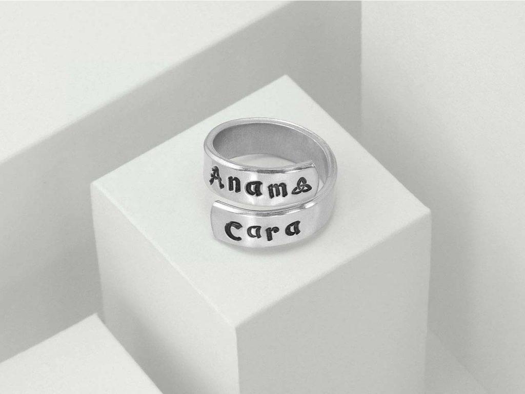 celtic font stamps