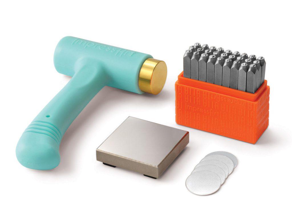 ImpressArt Starter San Serif Stamping Kit