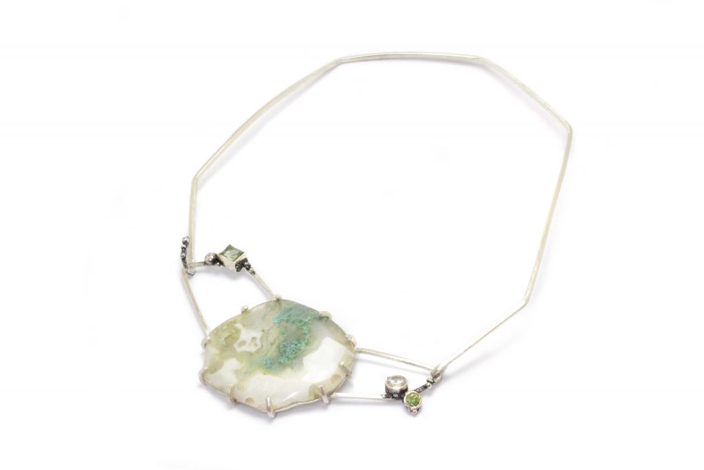 Moss Crystal jewellery