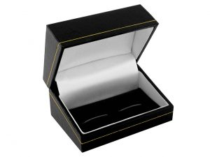 Leatherette Cufflink Box