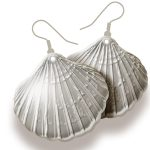 how to make shell earrings