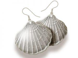 how to make shell earrings