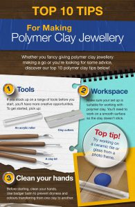 Top Tips For Making Polymer Clay Jewellery