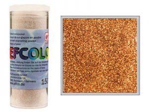 Efcolor Enamel Glitter Copper 10ml