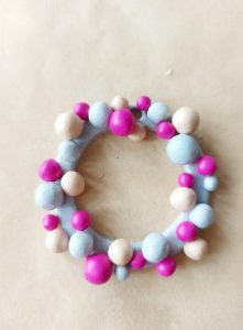 Mini wreaths crafts