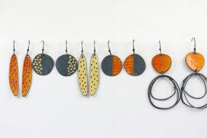 Enamelling Jewellery Earrings