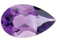 Amethyst,-Pear,-6x4mm