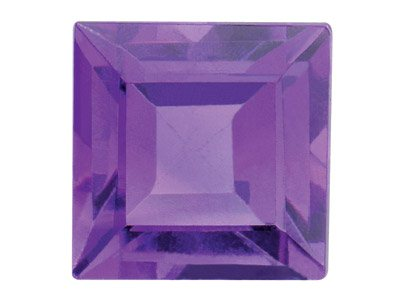 Amethyst, Square, 3x3mm