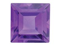 Amethyst,-Square,-5x5mm