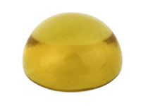 Citrine,-Round-Cabochon,-6mm