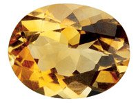 Citrine,-Oval,-6x4mm