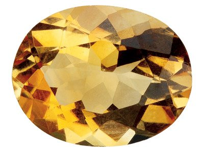 Citrine Oval 6x4mm