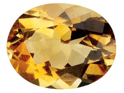 Citrine Oval 7x5mm