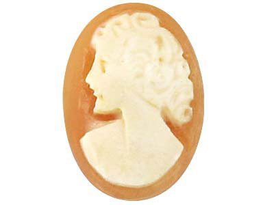 Cameo, Oval, 12x10mm