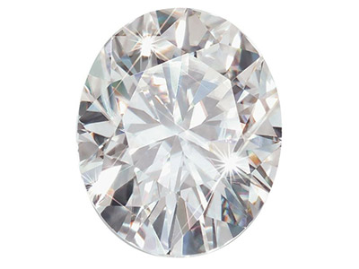 Moissanite Oval 6x4mm 0.43cts    Diamond Equivalent 0.50cts Very   Good Quality