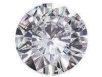 Moissanite,-Round-5mm-0.41cts,-----Di...