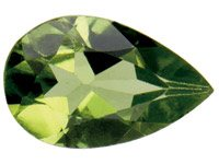 Peridot,-Pear,-7x5mm