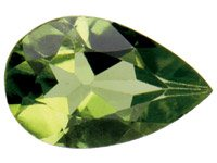 Peridot,-Pear,-8x5mm