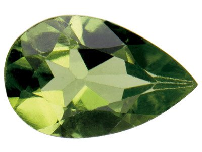 Peridot, Pear, 8x5mm
