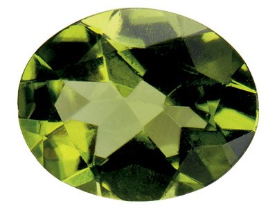 Peridot Oval 6x4mm