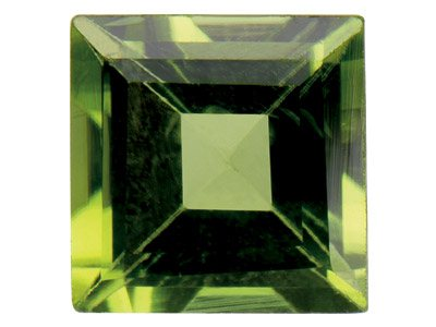 Peridot Square 3x3mm