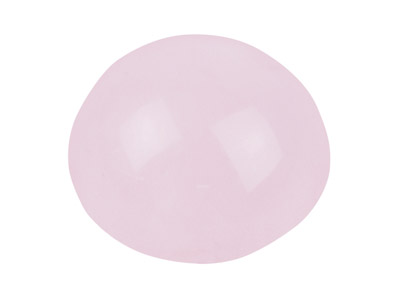 Rose Quartz, Round Cabochon, 8mm