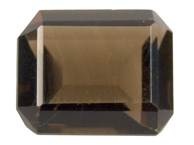 Smokey Quartz, Octagon, 14x10mm