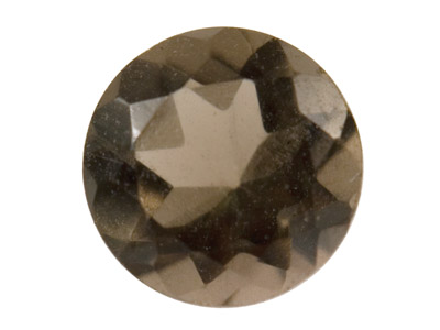 Smokey Quartz, Round, 4mm