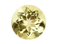 Lemon-Quartz,-Round,-6mm