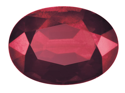 Ruby, Oval, 5x4mm