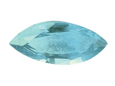 Sky Blue Topaz, Marquise, 12x6mm,  Treated