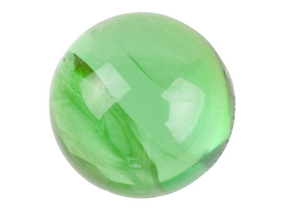 Green Tourmaline, Round Cabochon   4mm