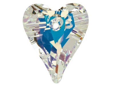 Swarovski Crystal Wild Heart, 6240, 27mm Crystal Ab